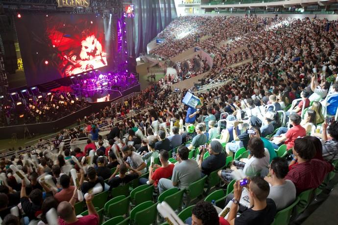 Arena Palmeiras recebeu 12 mil pessoas no ano passado (Foto: Divulgação / Riot)