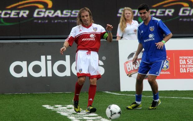Soccerex Caniggia (Foto: André Durão / Globoesporte.com)