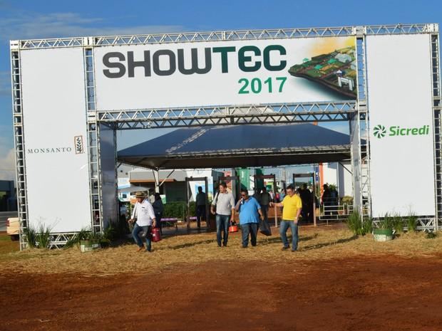 Edicão 2017 do Showtec recebeu mais de 16 mil visitantes, segundo a Fundação MS (Foto: Anderson Viegas/G1 MS)
