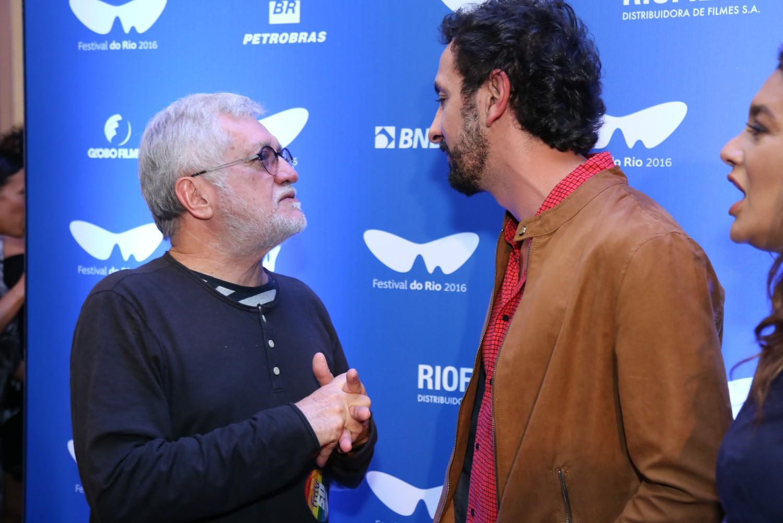 Walter Carvalho e Irandhir Santos (Foto: Roberto Filho/Brazil News)