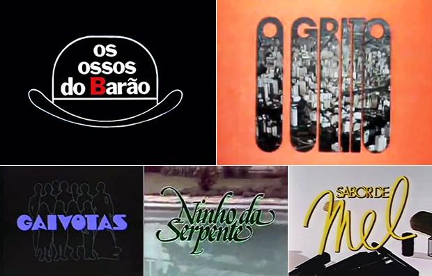Logotipos de novelas de Jorge Andrade
