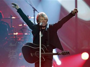 A banda Bon Jovi foi a que mais faturou com venda de ingressos este ano (Foto: Reuters)