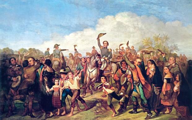 Independência ou Morte, do pintor Pedro Américo (Foto: reprodução)