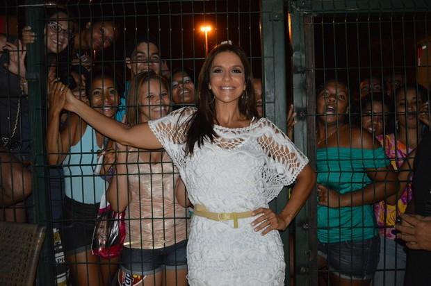 Ivete Sangalo em show em Salvador, na Bahia (Foto: Felipe Souto Maior/ Ag. News)