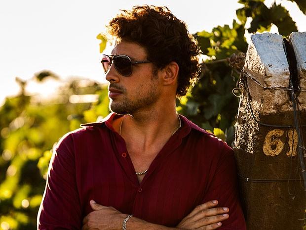 Cauã Reymond interpreta o Don Juan Leandro Dantas (Foto: Fábio Rocha/TV Globo)