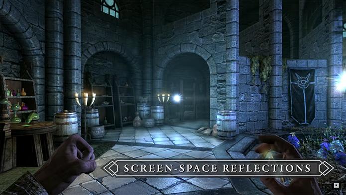 Novos efeitos permitem reflexos em tempo real (Foto: Divulgação/Bethesda)