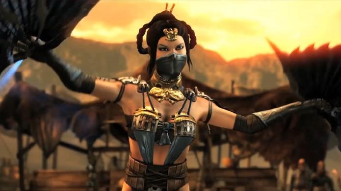 Princesa Kitana marca seu retorno em Mortal Kombat X com novo trailer (Foto: IncGamers)