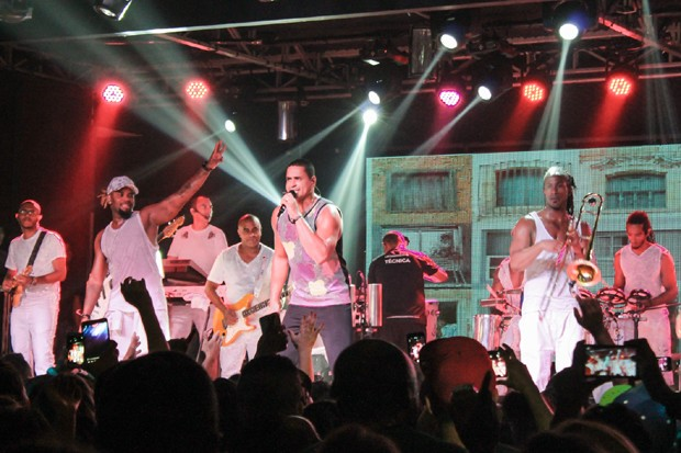 Show do Harmonia do Samba (Foto: Rodrigo Sanchez/Brazil News)