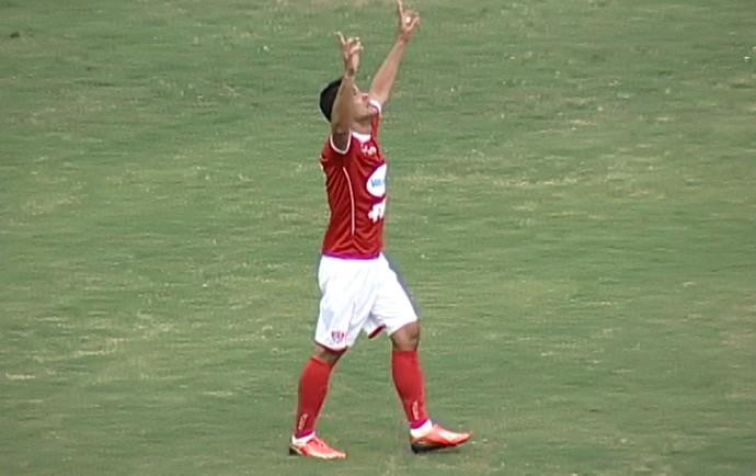 Eraldo Uberaba Mineiro 2014 gol (Foto: Reprodução/TV Integração)