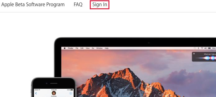 Acessando a página de software beta da Apple (Foto: Reprodução/Edivaldo Brito)