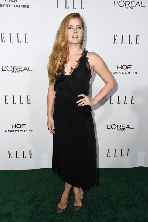 Amy Adams em premiação em Los Angeles, nos Estados Unidos (Foto: Frazer Harrison/ Getty Images/ AFP)