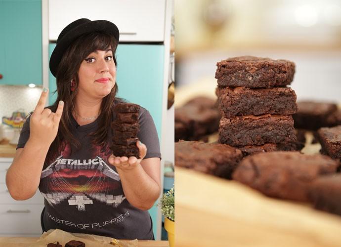 Esse brownie é de dar água na boca!  (Foto: webséries/Gshow)