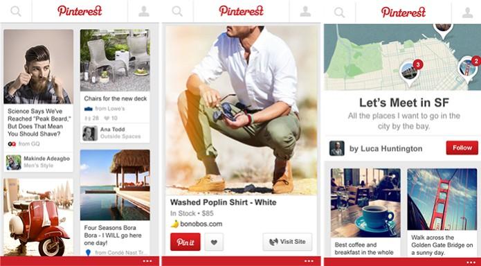Pinterest é uma rede social de fotos e vídeos que acaba de chegar oficialmente ao Windows Phone (Foto: Divulgação/Windows Phone Store) (Foto: Pinterest é uma rede social de fotos e vídeos que acaba de chegar oficialmente ao Windows Phone (Foto: Divulgação/Windows Phone Store))