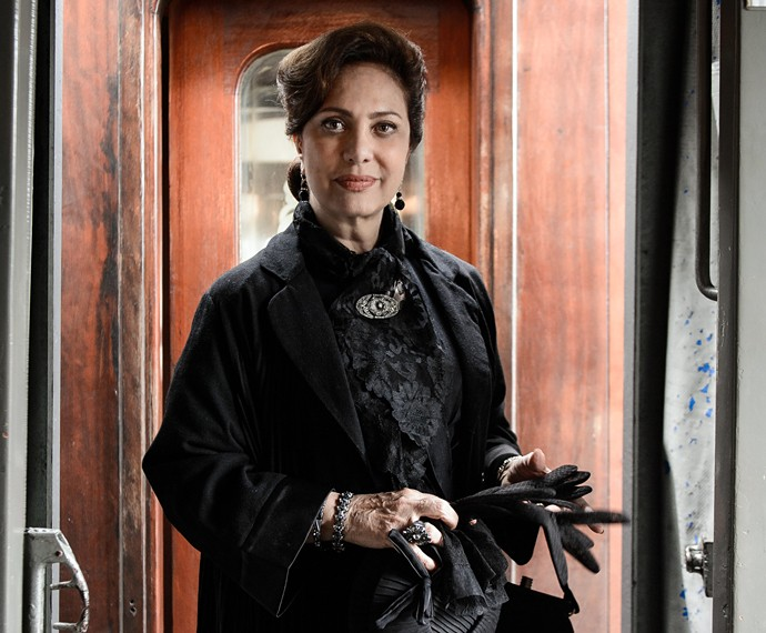 Eliane Giardini fará Anastácia, a mãe de Candinho (Foto: Ramon Vasconcelos/TV Globo)