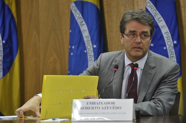 Desde 2008, Roberto Azevêdo é representante permanente do Brasil na OMC (Foto: Elza Fiúza/ABr)