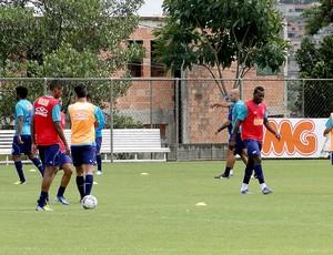 jogadores treino Cruzeiro (Foto: Lucas Catta Prêta )