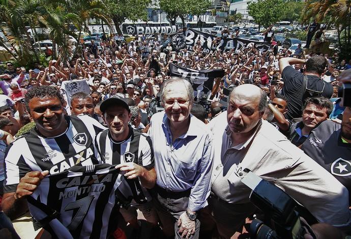 Montillo, Botafogo (Foto: Vitor Silva/SSPress/Botafogo)