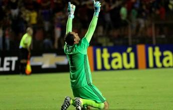Magrão brilha contra o Cruzeiro e é o dono da defesa mais bonita da rodada
