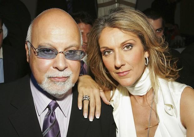 René Angelli e Celine Dion em 2006 (Foto: Getty Images)