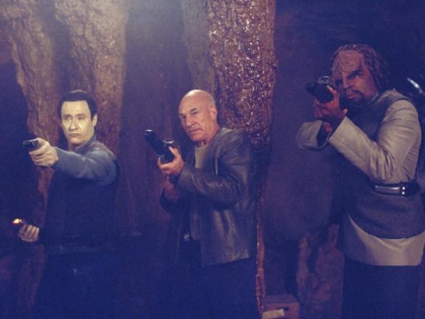 Picard lidera uma rebelião contra a Federação em 'Jornada nas estrelas: Insurreição' (Foto: Divulgação)