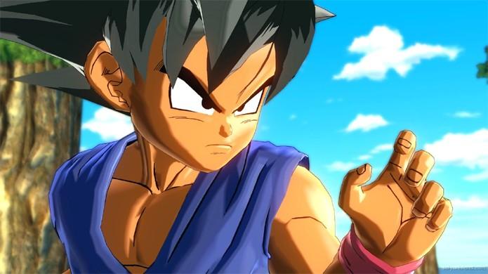 Goku em sua forma de criança, Trunks e Pan da saga Dragon Ball GT chegam a Xenoverse por DLC (Foto:Reprodução/Saiyan Island)