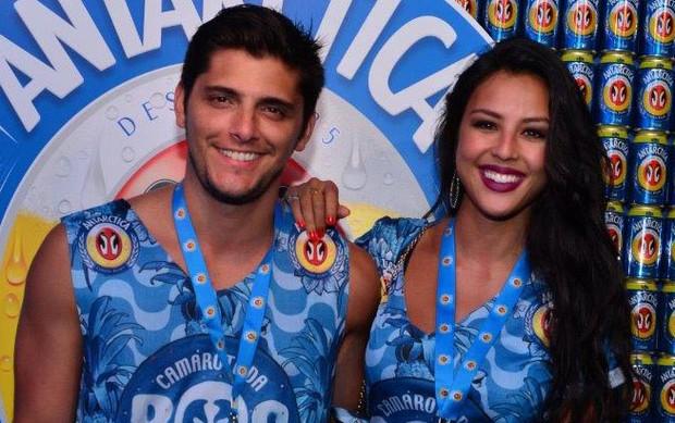 Bruno Gissoni e Yanna Lavigne (Foto: Erbs Junior e Luciana Monteiro / AgNews)