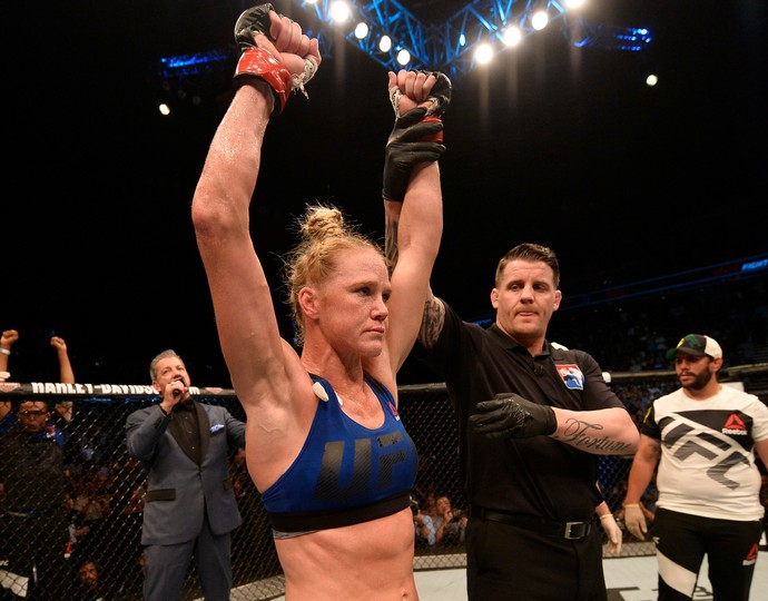 Holly Holm UFC Singapura (Foto: Getty Images)