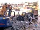 Busca por desaparecido em desabamento dura mais de 60 horas