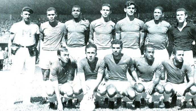 Cruzeiro; 1966; Taça Brasil (Foto: Acervo/Cruzeiro)