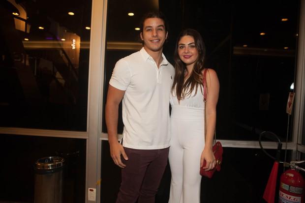 Rick Tavares e Marcela Barrosso (Foto: Anderson Barros/ EGO)