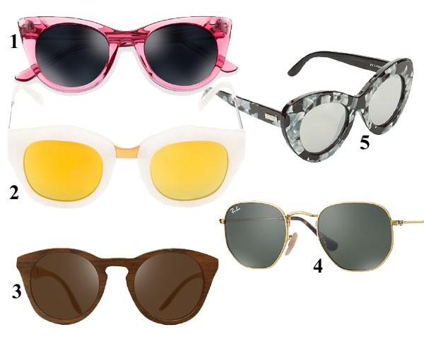 Óculos de sol para a temporada! (Foto: Divulgação)