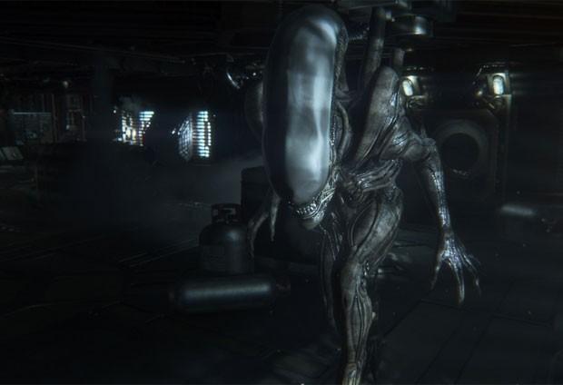 Alien é um ser inteligente em 'Alien: Isolation' (Foto: Divulgação/Sega)