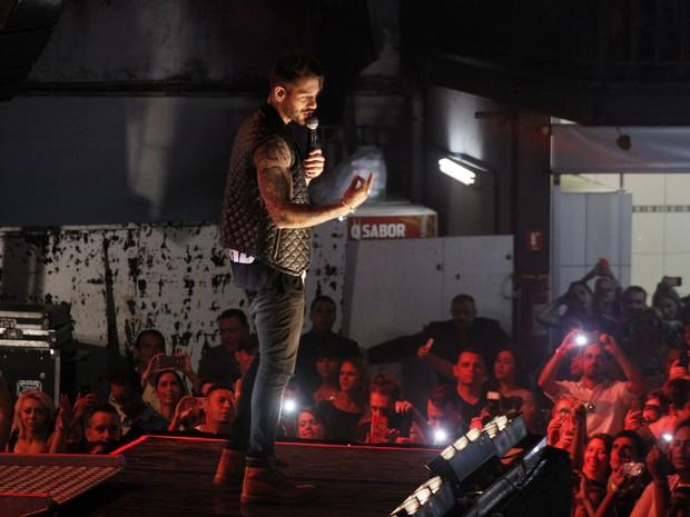 Lucas Lucco faz show em São Paulo (Foto: Celso Tavares/ EGO)