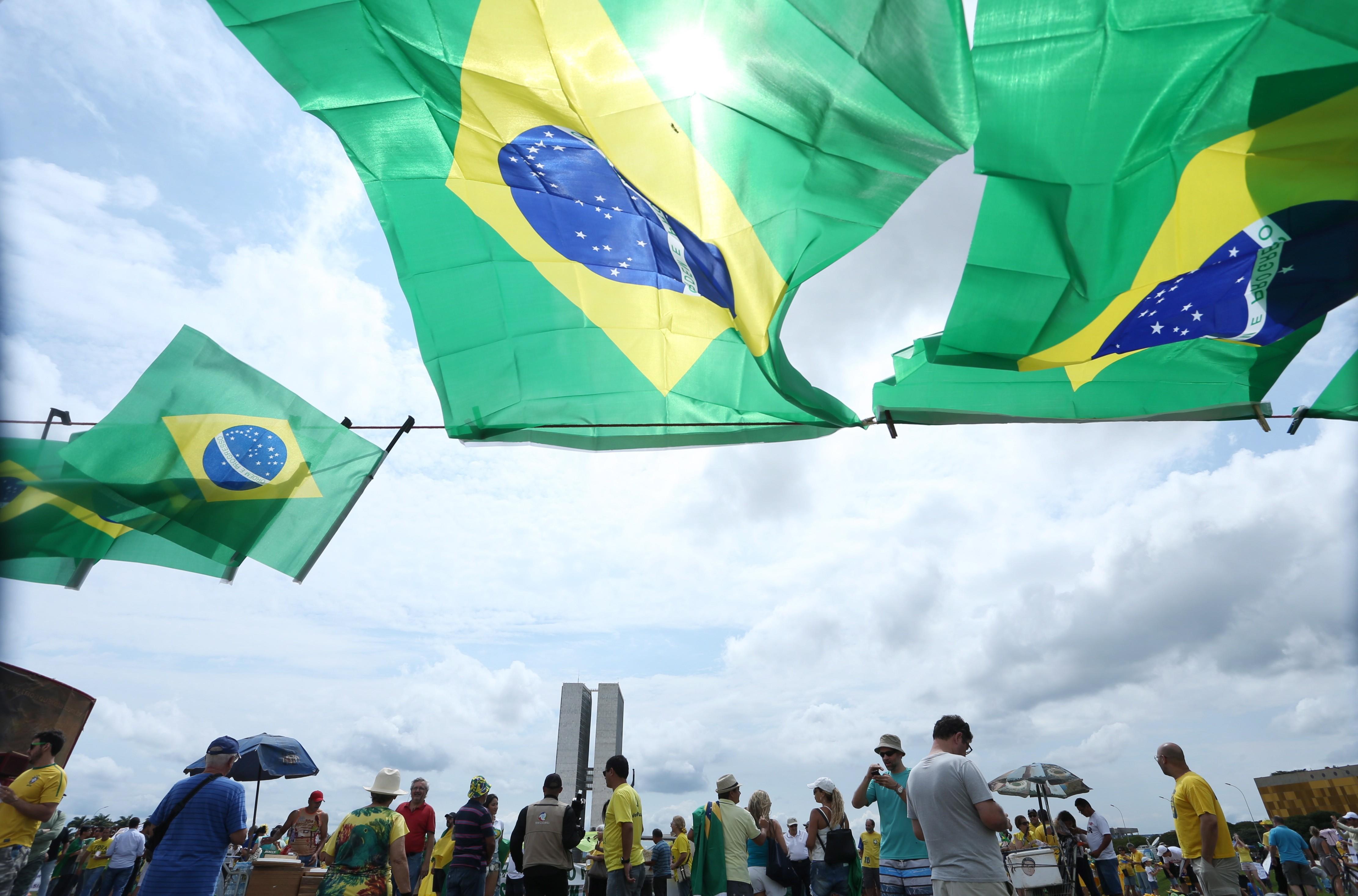 Ato em Brasília