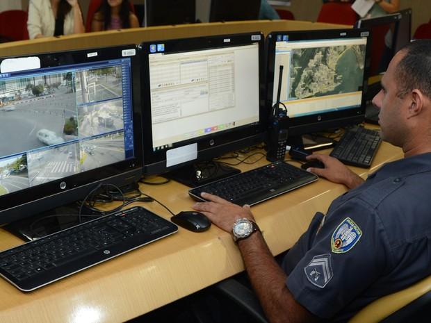 Novo sistema de segurança indentifica placas de veículos no Espírito Santo (Foto: Ricardo Medeiros/A Gazeta)