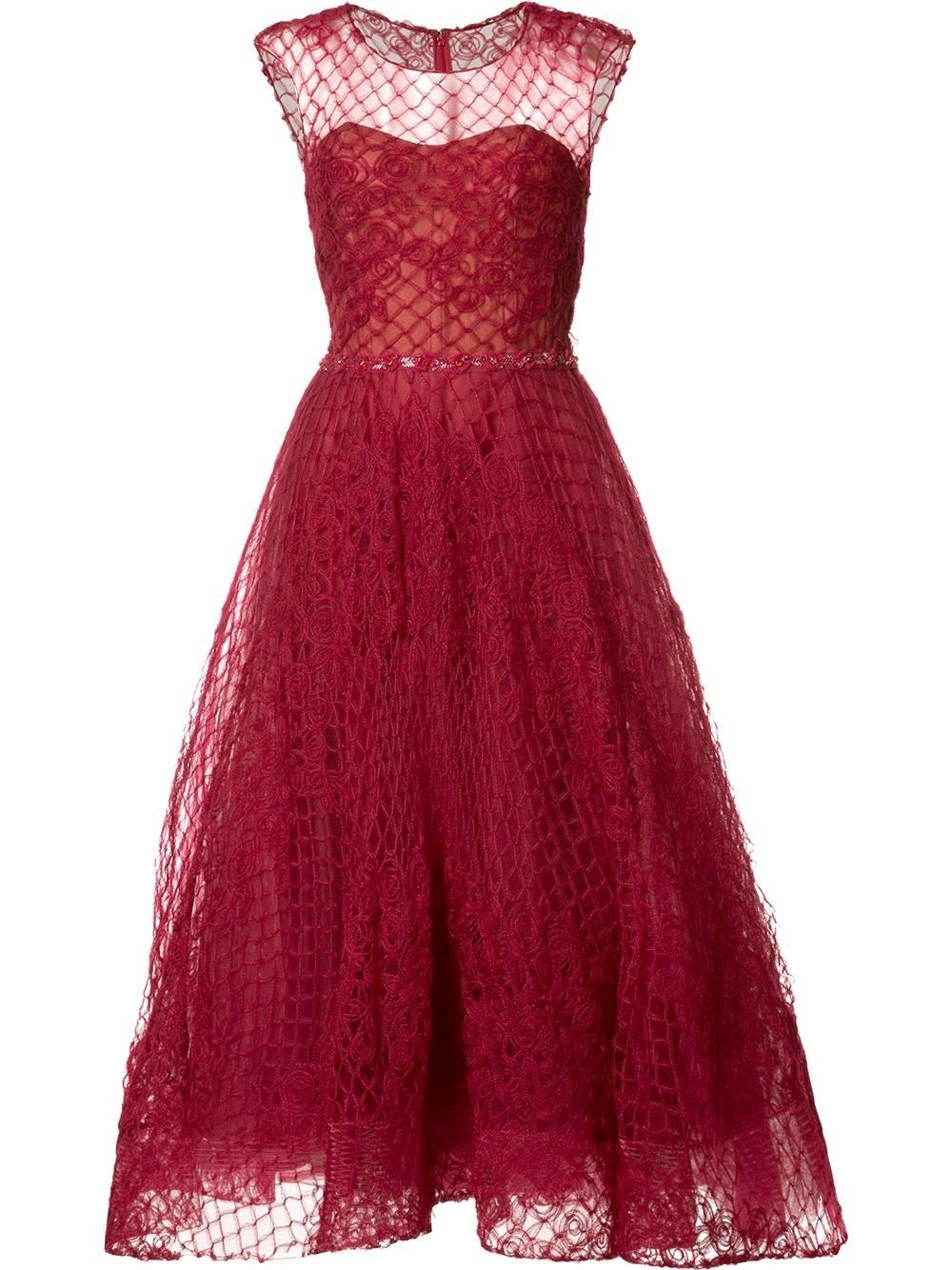 O vestido Marchesa Notte (Foto: Reprodução)