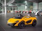 McLaren lança superesportivo P1 em versão de brinquedo para crianças