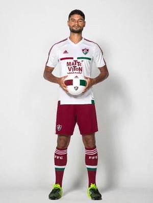 Fluminense camisa nova Gum (Foto: Divulgação)