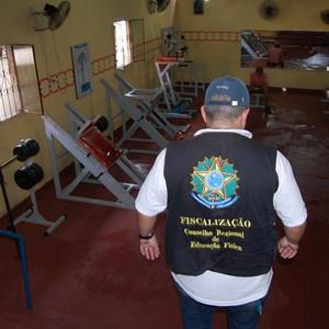 Conselho Regional de Educação física autua e interdita academias (Foto: Divulgação)
