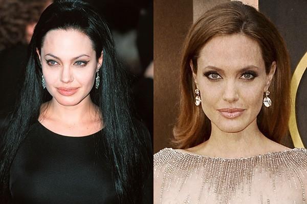 Angelina Jolie era uma bad girl, fama muito desejada durante os anos 90. Ela se reinventou desde então, após grandes papeis como Laura Croft e seu envolvimento com a filantropia, Angelina deu uma suavizada no look e se importa mais com causas humanitárias e com sua família.  (Foto: Getty Images)