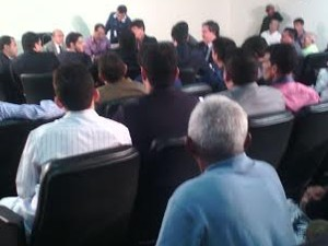 Primeira audiência do caso Brunno Soares (Foto: João Ricardo Barbosa / G1)