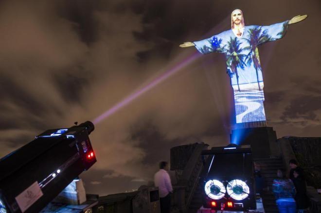 Cristo Redentor receberá iluminação de tecnologia de SC (Foto: André Hawk / Meduzza)