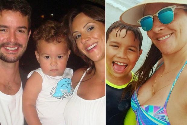 Alan Pierre e Analy com o filho deles, Theo (Foto: Reprodução / Instagram)
