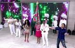 'Encontro' recebe integrantes da Mangueira, escola campeã do Carnaval carioca