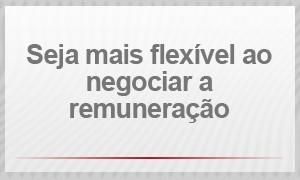 Recolocação profissional - Seja mais flexível ao negociar a remuneração (Foto: G1)