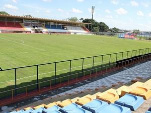 Estádio do Sesi, Manaus (Foto: Anderson Silva/GLOBOESPORTE.COM)