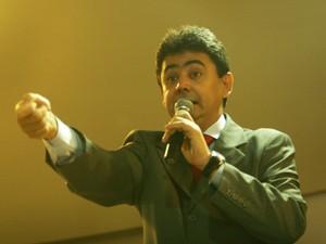 O ex-secretário Eder Moraes seria o operador do esquema investigado pela PF. (Foto: Lenine Martins / Secom-MT)