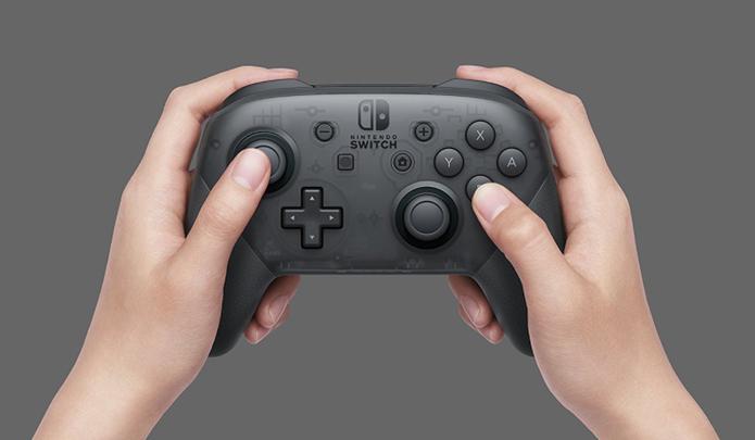 Pro Controller do Switch (Foto: Divulgação/Nintendo)
