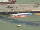 Polícia ouve tripulação de navio que afundou com bois vivos em Barcarena