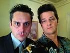 Marcelo Serrado e Alexandre Nero gravam 'Crô': 'Eles voltaram'